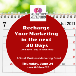 Recharge Your Marketing in the Next 30 Days @ The Offices at Spenryn