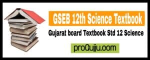 STD 12 Science Textbook