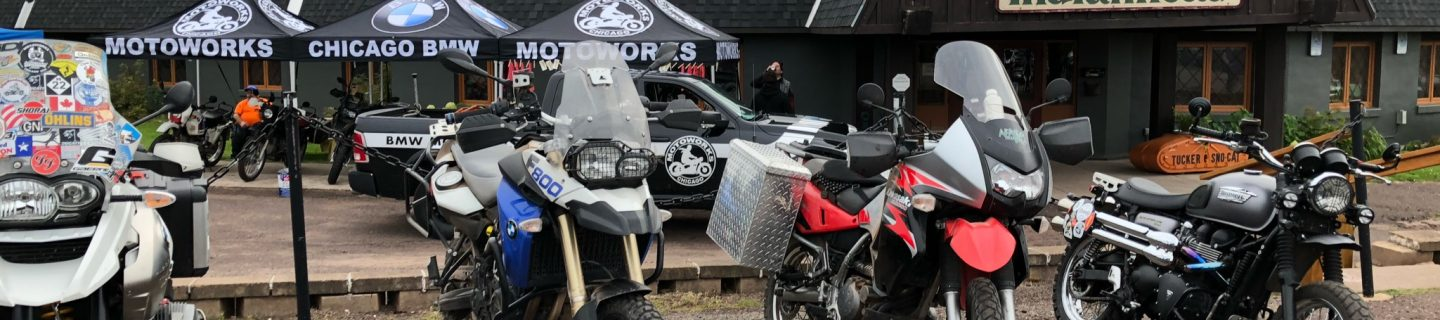 40th anniversary of the BMW GS in Wakefield Michigan