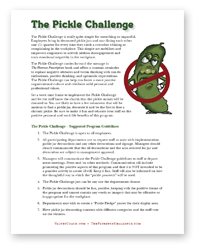 pickle challenge