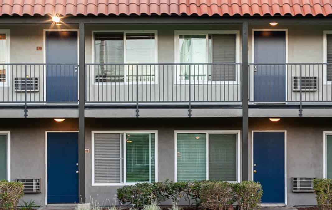 Two storey apartment units