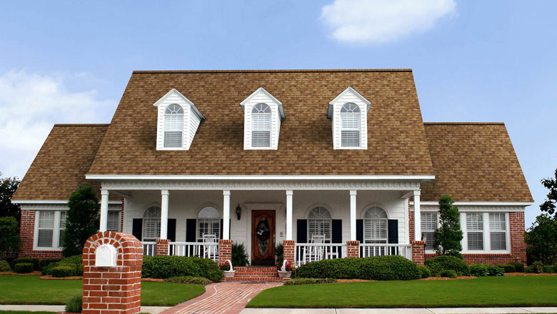 brown shingles are sometimes used on roofs in denver