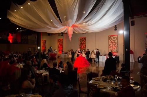 Vouv Ballroom with Draping