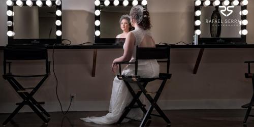Bridal Suite Make-Up Area