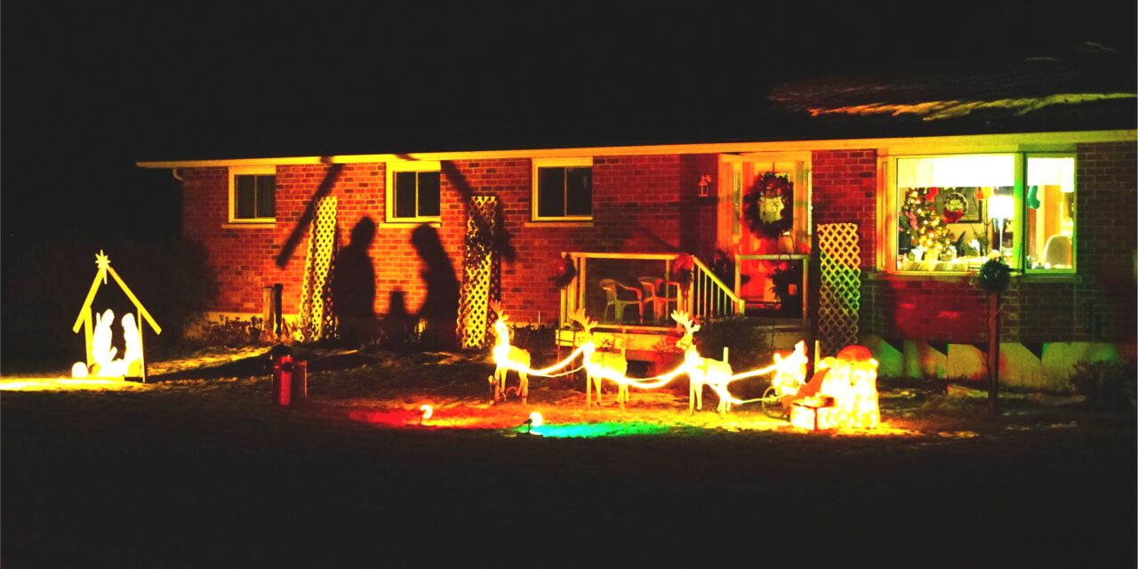Uxbridge welcomes the13th annual fantasy of lights display