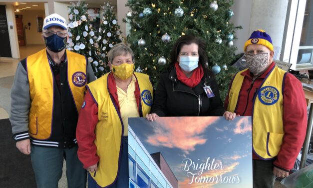 Fenelon Falls & District Lions Club supports exceptional care with gift for RMH