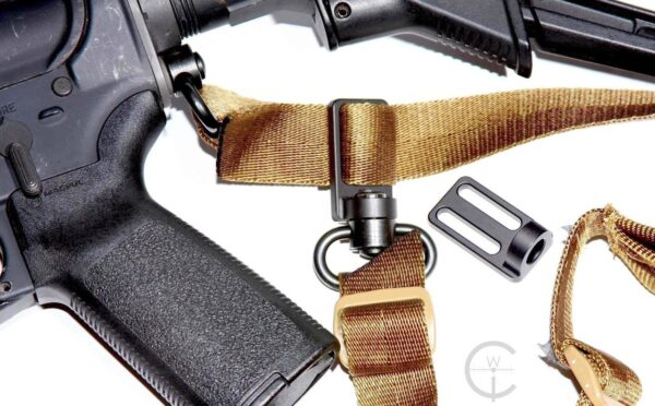 2 To 1 Point Triglide - Convertible QD Sling Conversion Adaptor