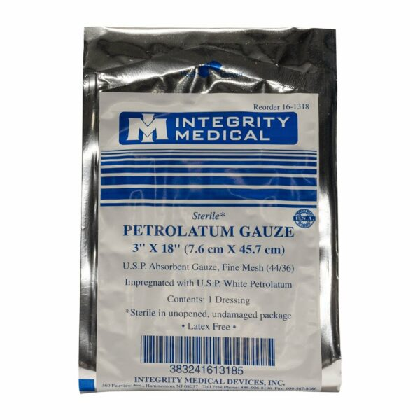 TacMed Petrolatum Gauze