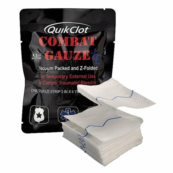 TacMed QuikClot Combat Gauze LE