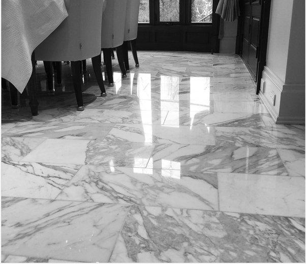 marble floor restoration