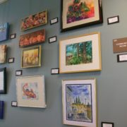 art gallery indian shores east wall