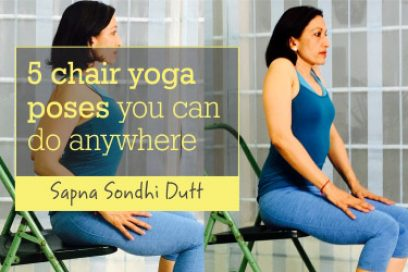 5 Chair Yoga Poses You Can Do Anywhere