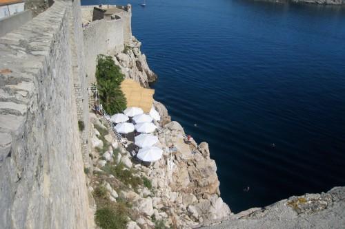 Buza bar, set into Dubrovnik's walls
