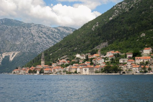 Perast and the Bay of Kotor, Montenegro