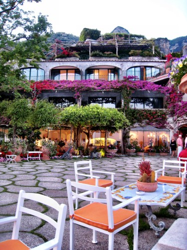 Gorgeous terrace of Il San Pietro di Positano hotel