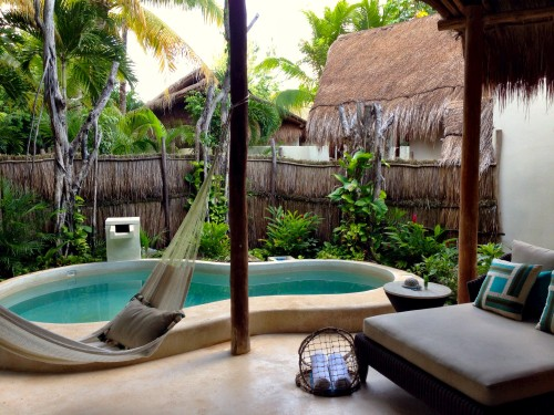 Signature Villa private pool and outdoor living