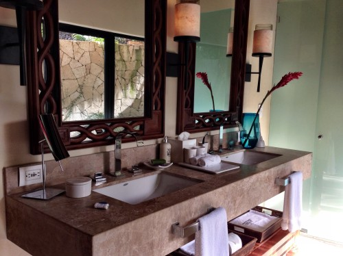 Signature Villa bathroom, infused with plenty of natural light