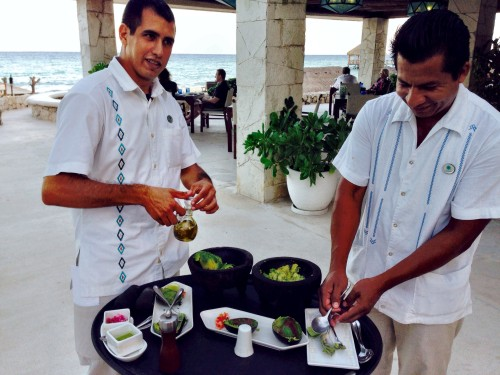 Tableside guac at the Viceroy