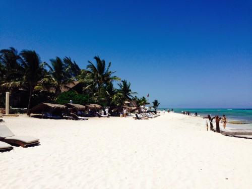 Perfect white powder beach