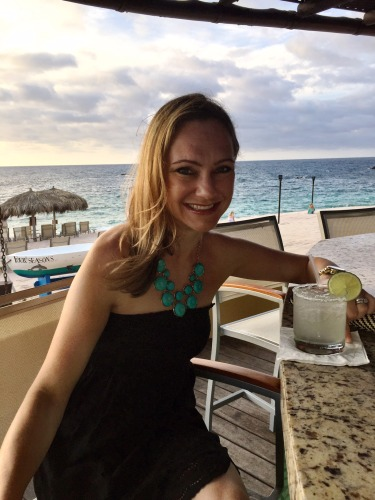 Fresh-made margs in Mexico.. it doesn't get much better than that!