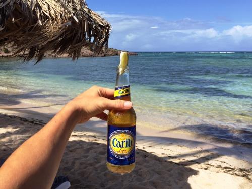 Carib beer = the best