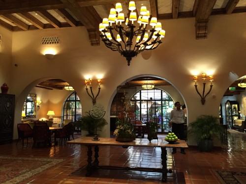 Four Seasons The Biltmore Santa Barbara lobby