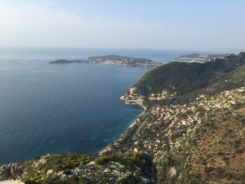 Stunning views from Chateau Eza