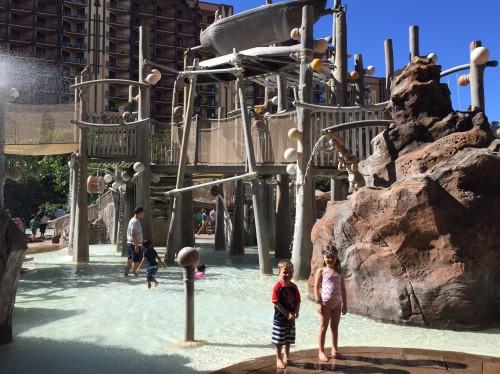 Disney's Aulani Oahu- kids waterpark!