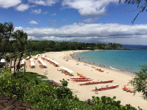 Mauna Kea Beach Hotel- GORGEOUS white sand beach