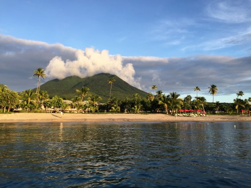 First view of the Four Seasons Nevis is breathtaking!!
