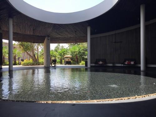 Cenote-like entrance