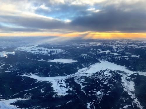 Arrival to Aspen around dusk!