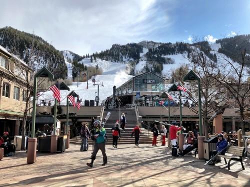 Base of the gondola in Aspen