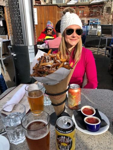 Truffle fries at Ajax Tavern.. just trust me!!