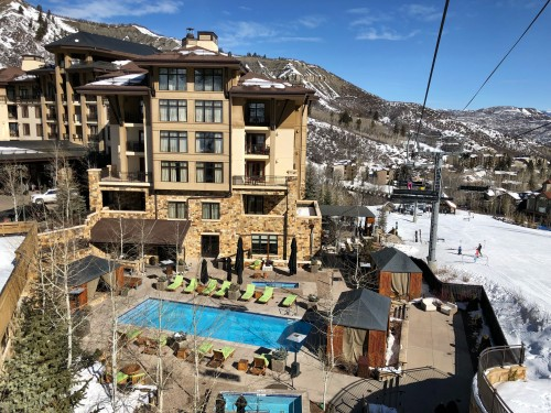 Viceroy Snowmass, perfectly situated for ski-in, ski-out!