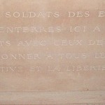 Seringes-et-Nesles - Relief Pedestal Engraving