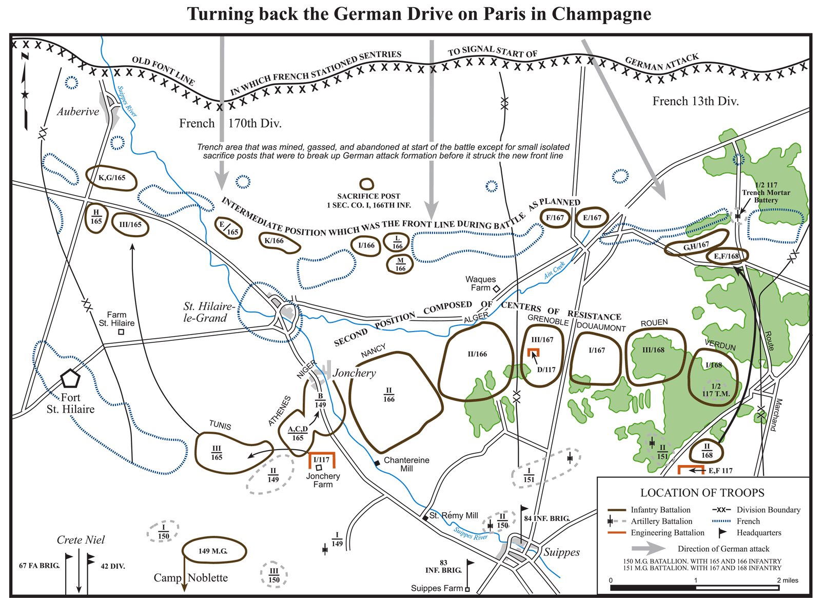 The Battle of Champagne