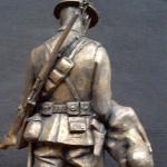 Maquette in Bronze (Rear View)