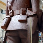 Soldier Clay Detail (Rear View)