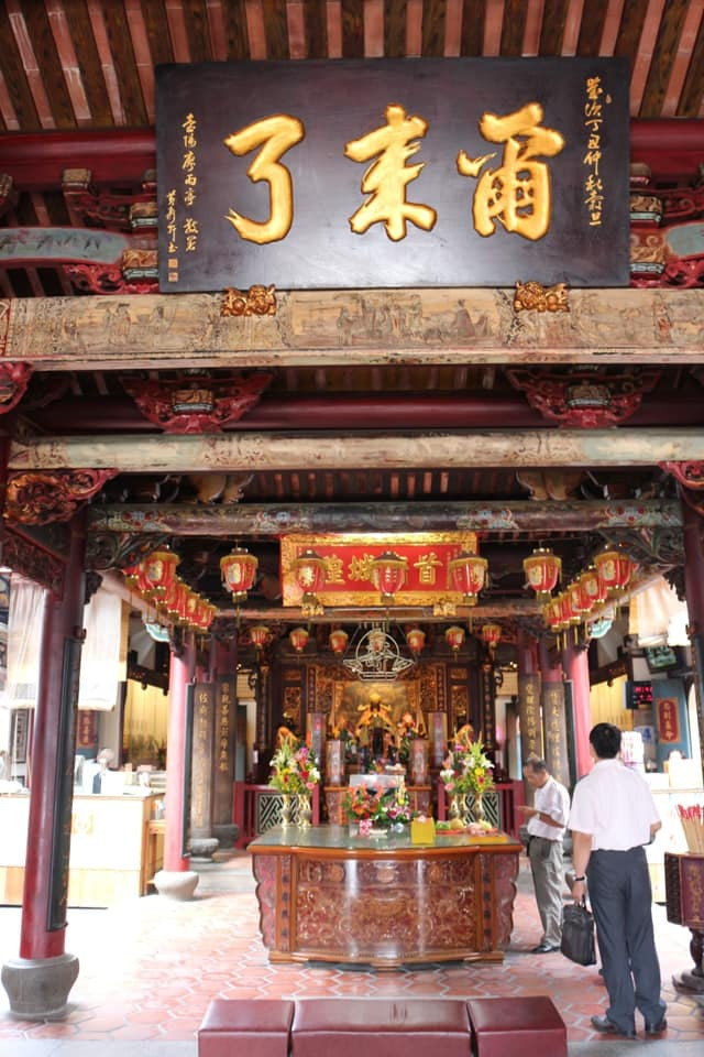 迎神開廟門-臺灣府城隍廟