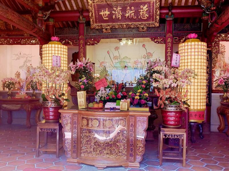 平安燈-臺灣府城隍廟