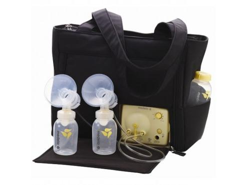 My Medela pump gets a lot of use now that I'm back to work, especially in the car.