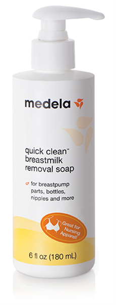 What's in my diaper bag: Review of Medela Breastmilk Removal Soap