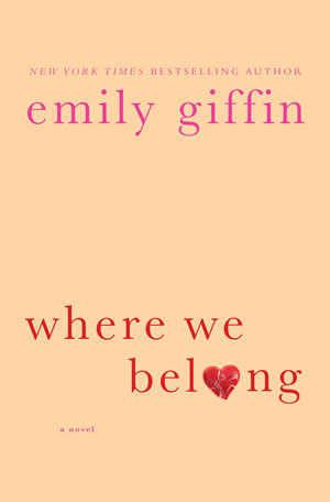 Book Review: Where we belong by Emily Giffin