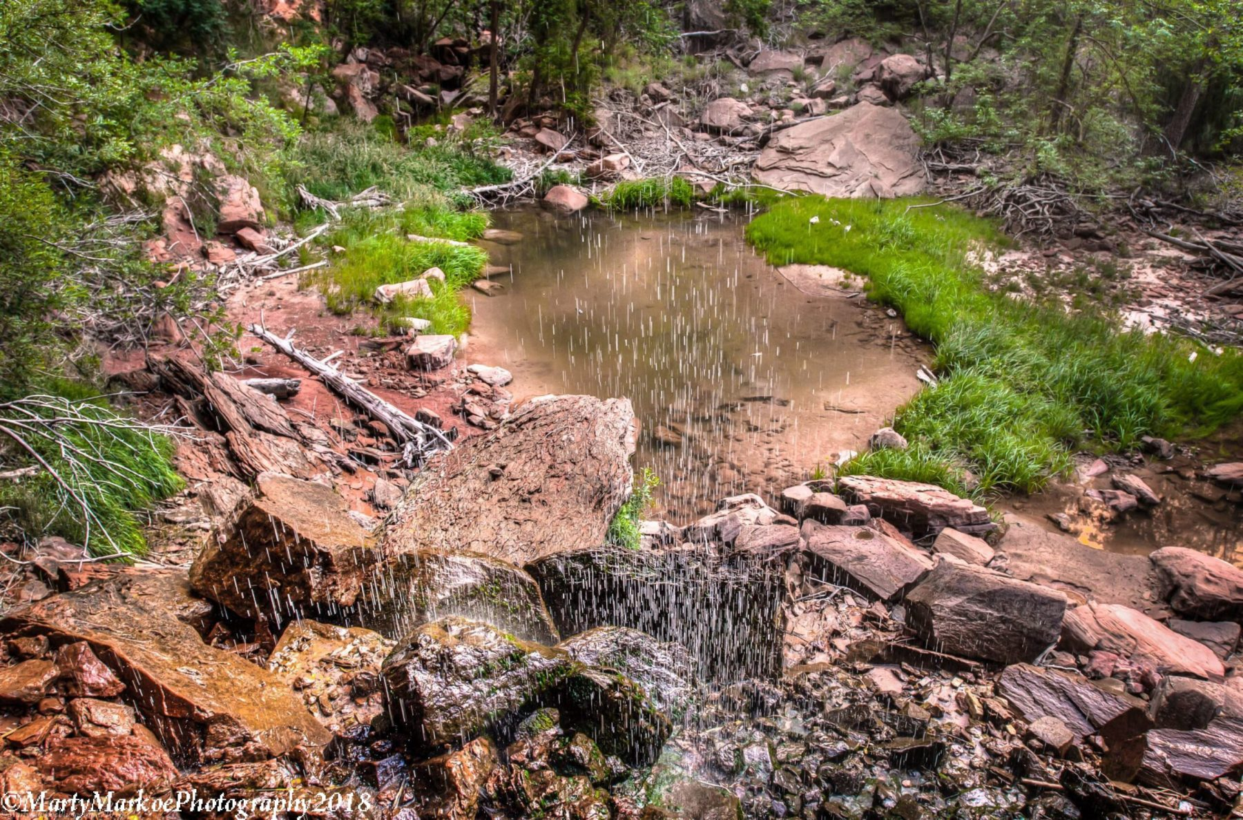Emerald-Pool-Falls-Zion-National-Park