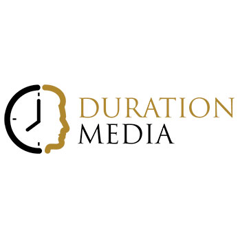 Duration Media Logo Design