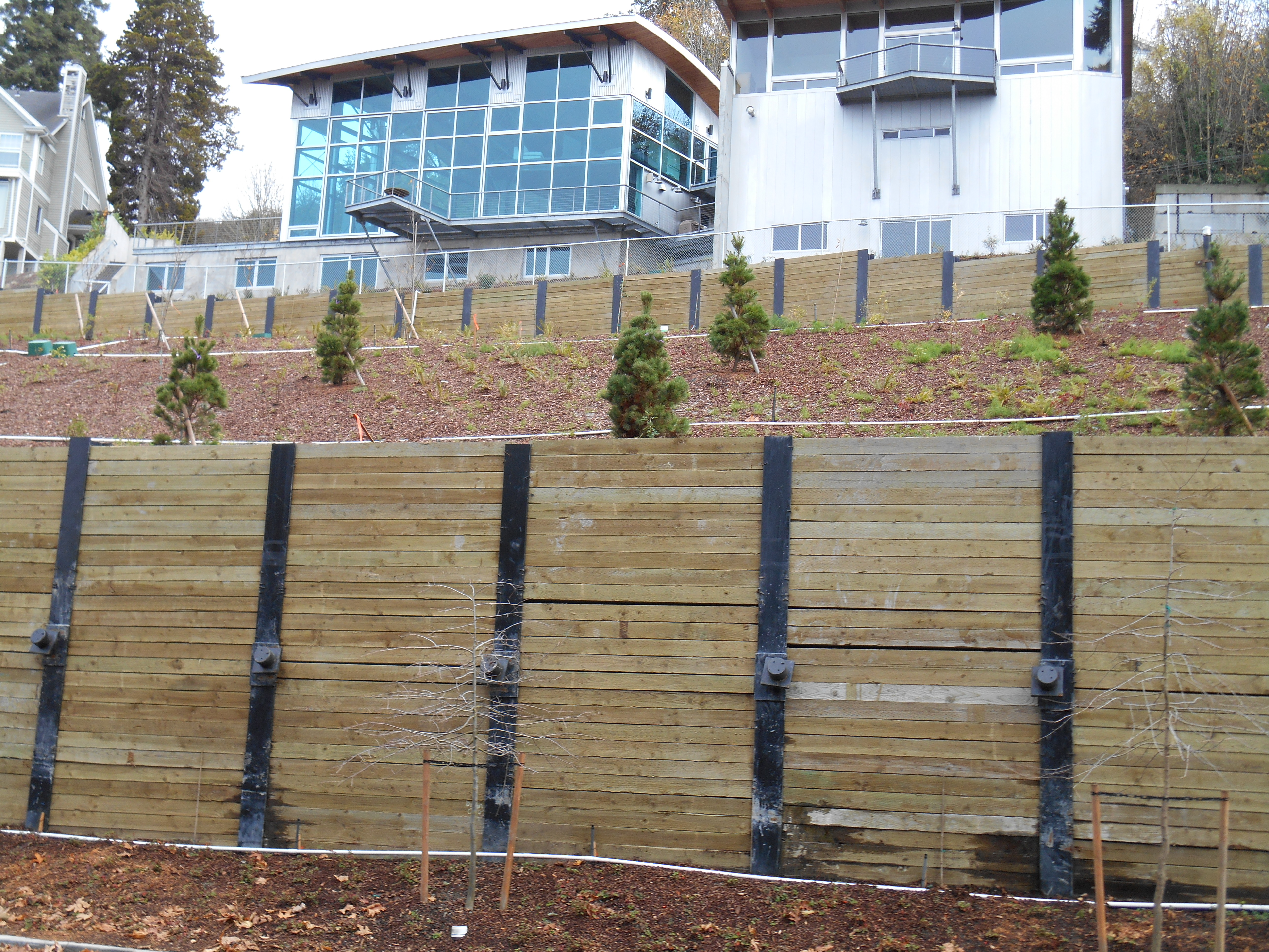 structural and civil engineering for slope stabilization