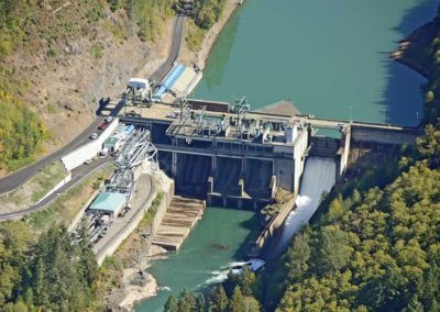 Cowlitz Falls Dam Collector Project
