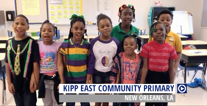 A Kipp elementary school in New Orleans does a bad thing.