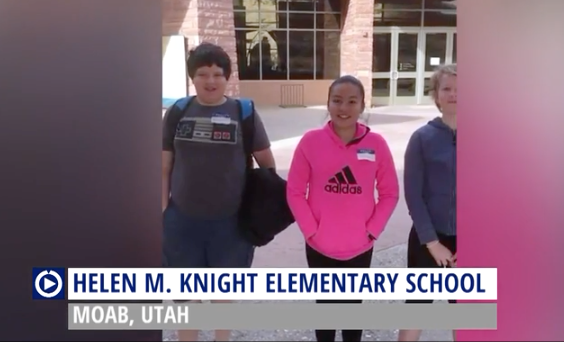 Grand County (UT) school uses taxpayer money to film Channel One promo film